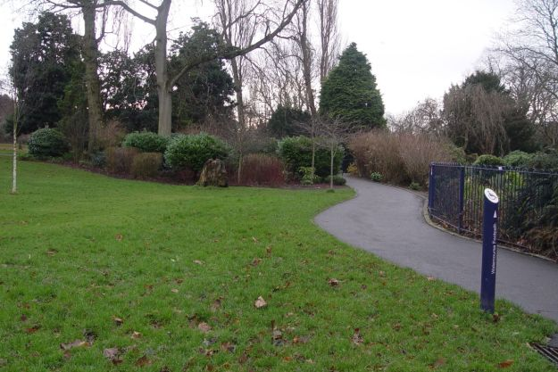 And even a dull day can't leech all the colour out of Sefton Park.