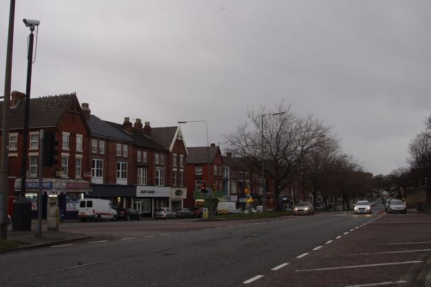 One o'clock now, and the brightest things on Aigburth Road are the headlights.