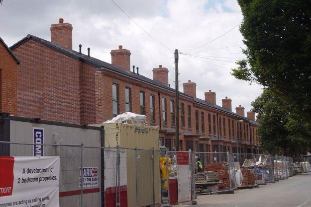 Renovations on Beaconsfield Street.