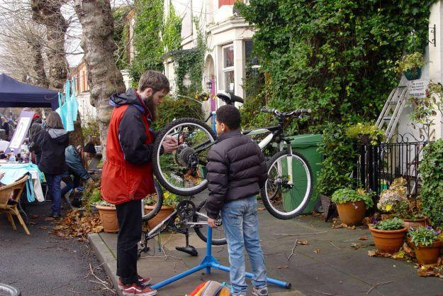 Bike repairs too.