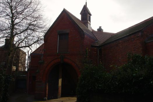 Next to Sudley House is this gorgeous red brick coach-house.