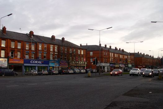 For today its back up to Aigburth Road.