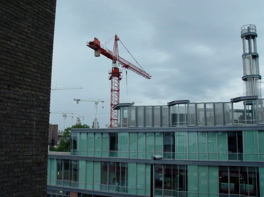 And the new rises. The new BBC Radio Merseyside, from the old Hanover Street multi.