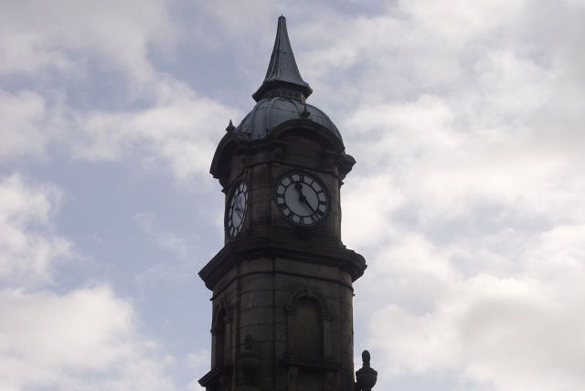 The Picton Clock. He paid for it, he named it.