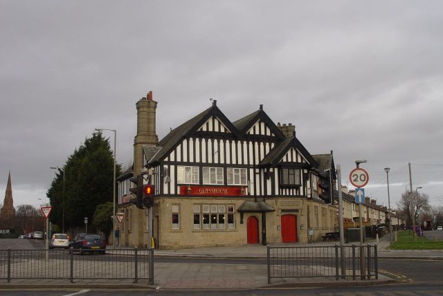 From Wavertree into Old Swan. The Glasshouse, beautiful and still a pub.
