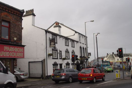 'The Old Swan' itself, at Liverpool's finest village crossroads.