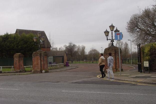 Newsham Park.