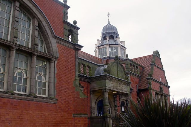 Next, a real treat, glorious Kensington Library.