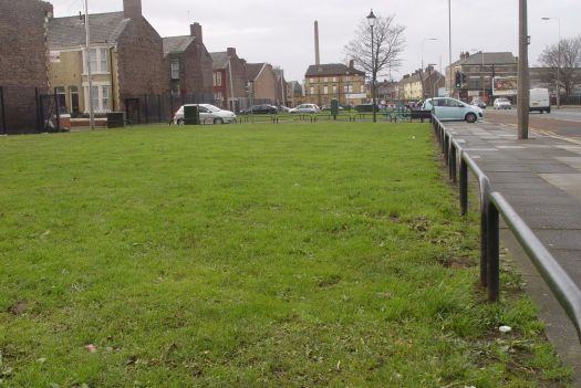 Oh look out! Looks like the 'Housing Market Renewal Initiative' has been doing its usual job of creating empty fields.