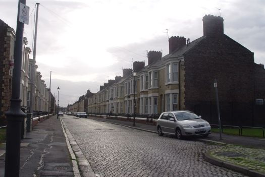 The Road Home: Lovely, yellow brick, Adelaide Road.