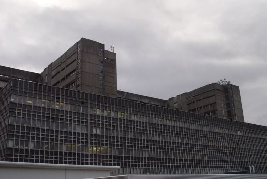 High security prison, Nuclear power station or factory specialising in the production of dangerous chemicals?