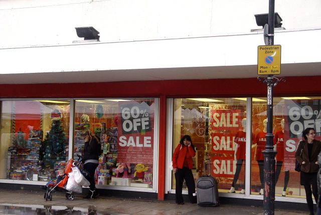 Today, five days before Christmas, their sale has already begun. So how's business?