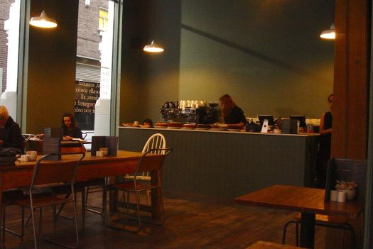 New to School Lane in Liverpool One. Three floors of coffee, drinks, food and deli.