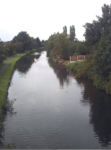 The Leeds and Liverpool Canal, near both of our houses.