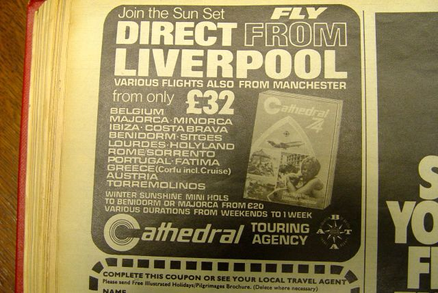 And look at all those places you can get to from Liverpool Airport.