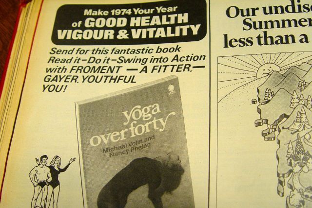 Or Yoga? Be 'fitter and gayer'