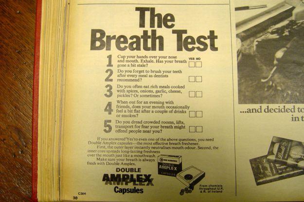 A bad breath crisis?