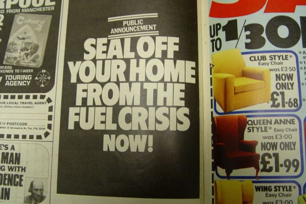 Caused by the fuel crisis of 1973 and 74.
