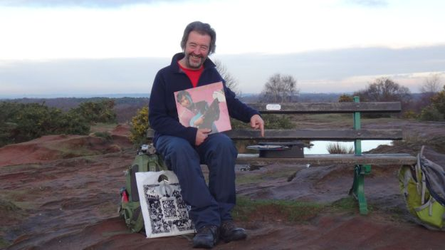 Yes, Birthday afternoon, playing Ry Cooder on Thurstaston Hill. Perfect.