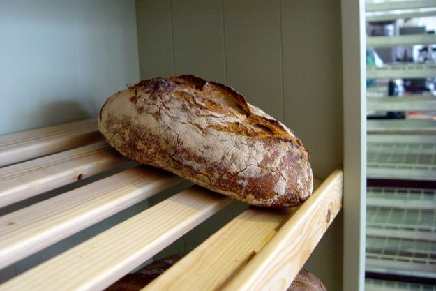 We pick out this sourdough loaf.