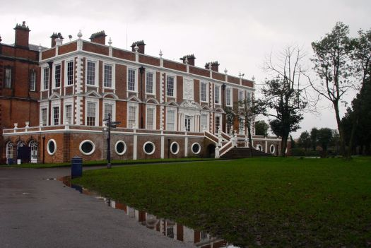 Ancestral home of the Molyneux family, the Earls of Sefton.