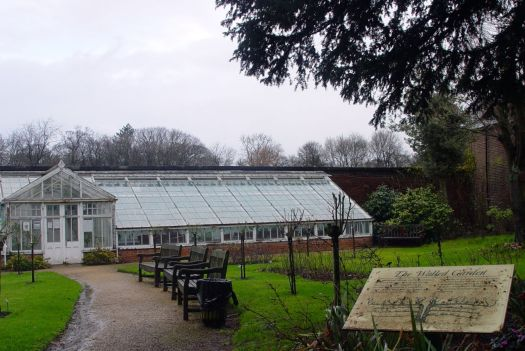 The Walled Garden, closed until April.