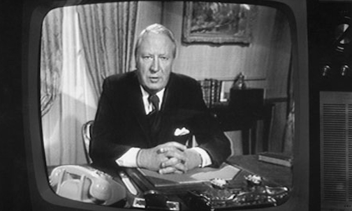 So Prime Minister Ted Heath has called a 'Who's running the country?' election.