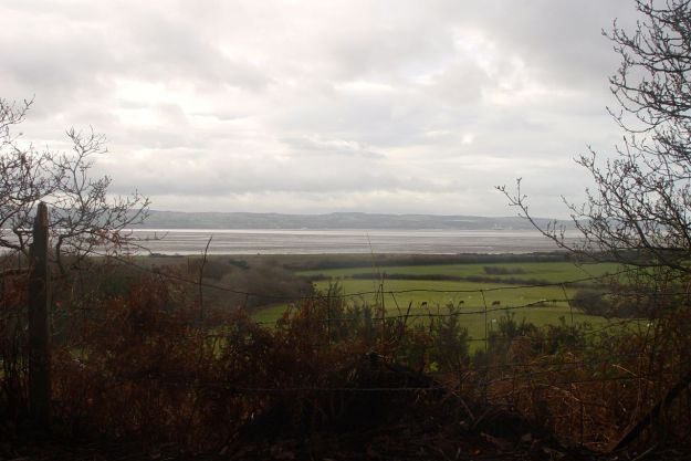 To look out over the Estuary to Wales..