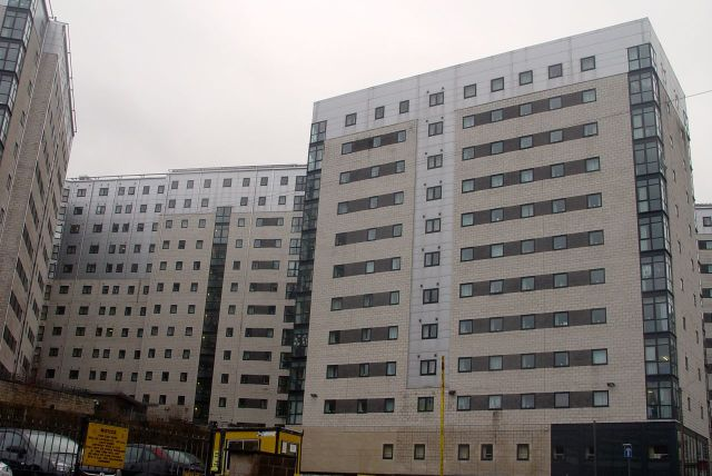 How on earth did these Stalinist slab  blocks ever get planning permission?
