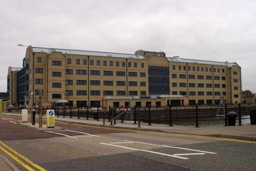 The now empty VAT building. It's got to go.