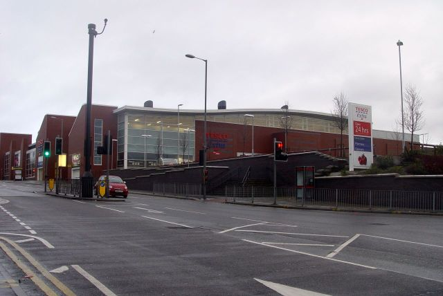 The Park Road Tesco.