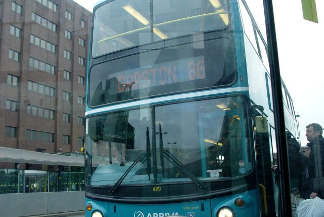 Time for bus journey sample number 3, the 86. And joy of joys, it's a double decker.
