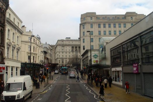 Past Central Station, up towards the Adelphi.