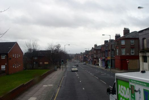 Down the hill of Smithdown.