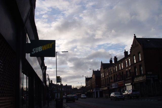 Along Smithdown Road.