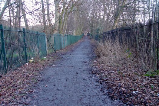 An ancient lane and closed to cars for much of its length.