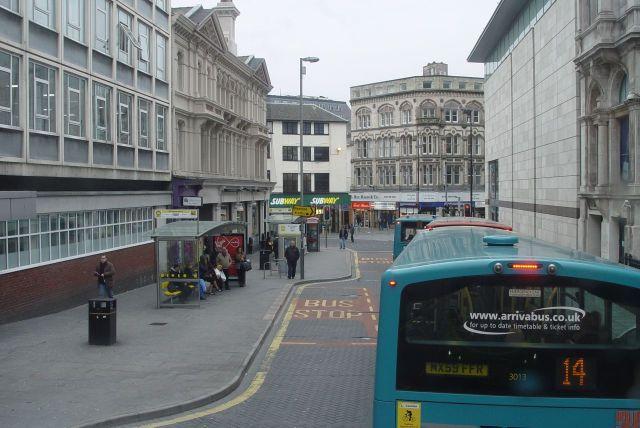 Round into Sir Thomas Street.