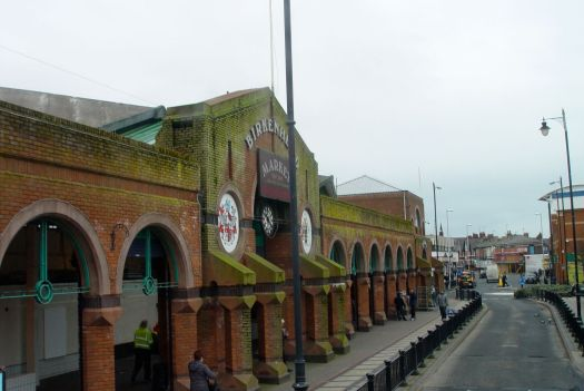 Past Birkenhead Market.