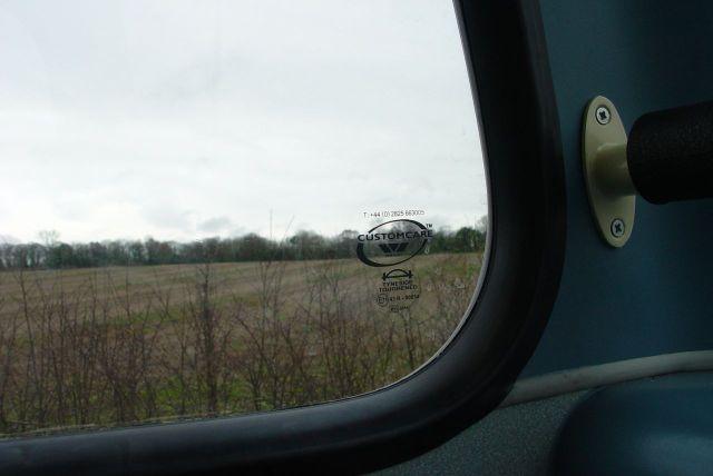 Looking across the fields towards Landican.