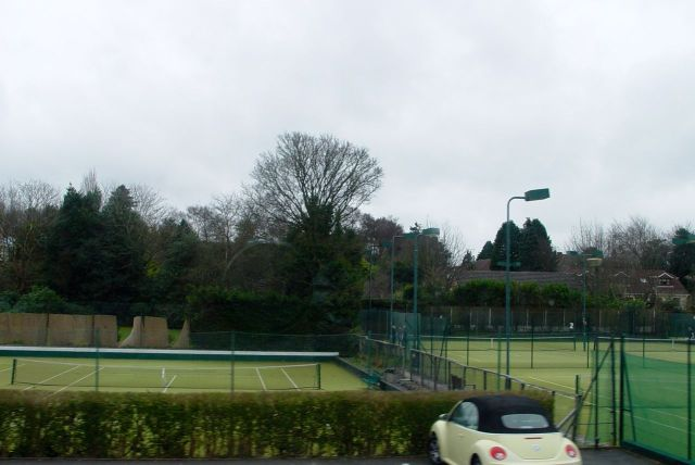Not every road has its own Lawn Tennis Club.