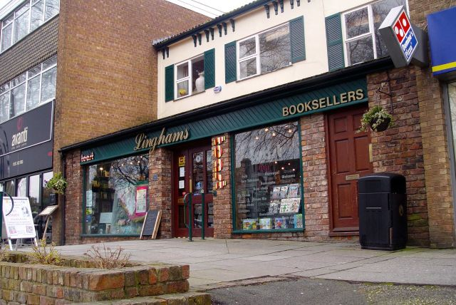 Again, independent and proudly 'Bookseller of the Year, 2013'.