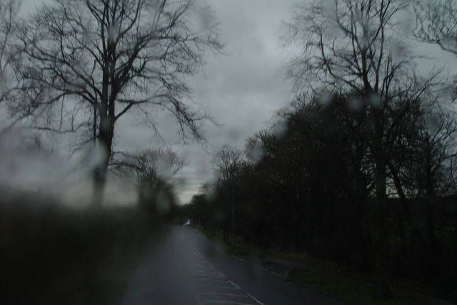 This is the 472. So back through Pensby, rather than coming through Irby on the 471. Not that you can see it!