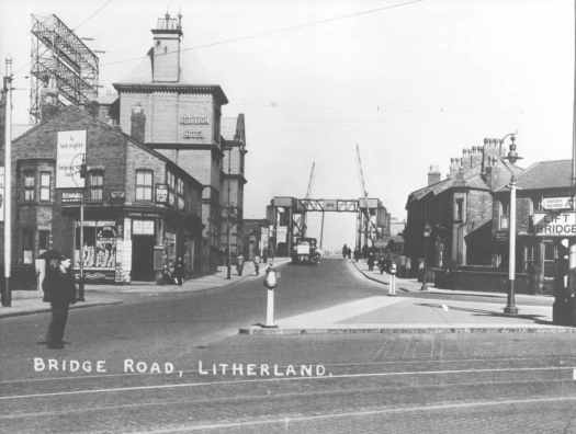 It looked like this. With Litherland on the other side of the bridge.