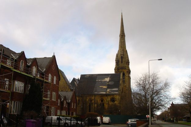 This is known as the 'Welsh Cathedral' - built by Welsh builders you see.