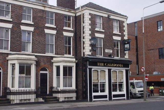 And one of Liverpool's favourite independent pubs and gig venues, The Caledonian.