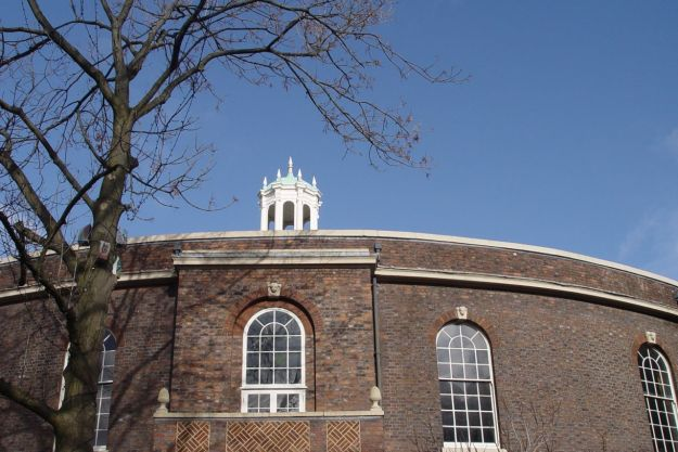 Next it's round to the Bluecoat for lunch.