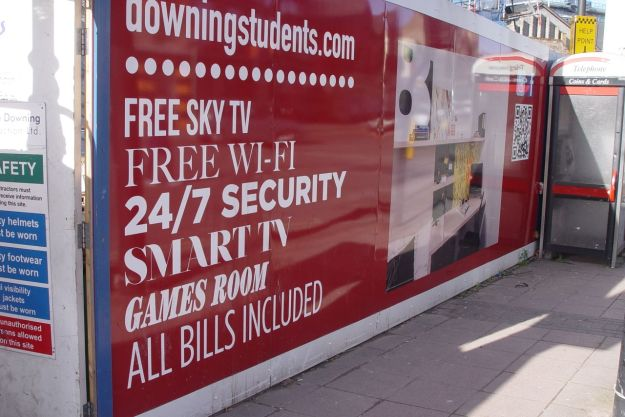 Now it's becoming, yes, student housing.