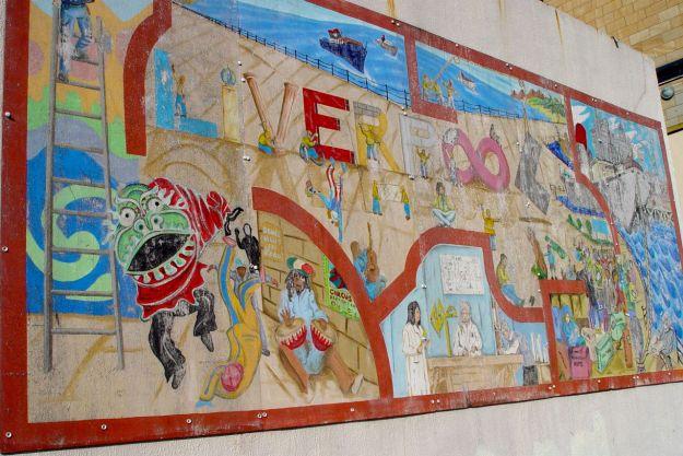 Street art along Great George's Street.