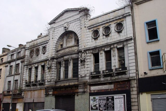 This rather grand cinema closed in 1982 and I don't think it's been used for anything ever since.