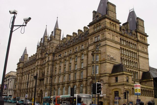 After a look at the splendidly gothic Lime Street Hotel. These days, yes you've guessed, it's mainly student housing.
